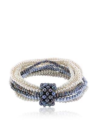 Alraune Armband Perlen Elastisch 12-reihig