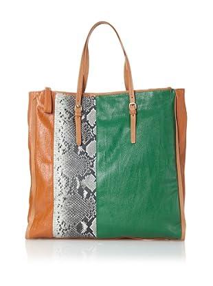 Kelsi Dagger Women's Patton Colorblock Tote (Green)