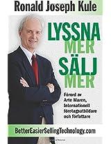 Lyssna Mer Salj Mer: Volume 1 (Listen More, Sell More)