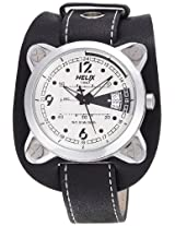 Helix Maverick Analog White Dial Men's Watch - 04HG01