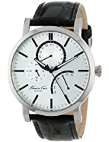 Kenneth Cole Dress Sport Analog Silver Dial Men's Watch KC1934