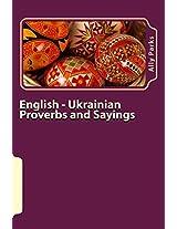 English - Ukrainian Proverbs and Sayings