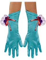 Disguise Costumes Ariel Gloves, Girls, Size 6