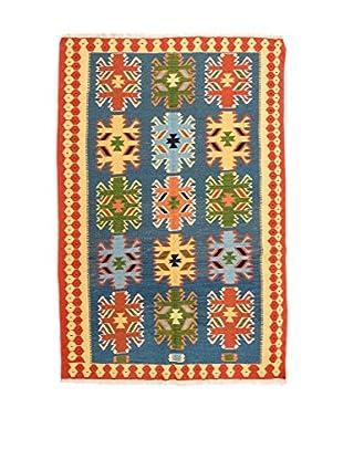 Rugsense Teppich Persian Fine Kashkai blau/mehrfarbig 187 x 124 cm