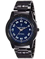 Optima Analog Blue Dial Men's Watch - FT-ANL-2499