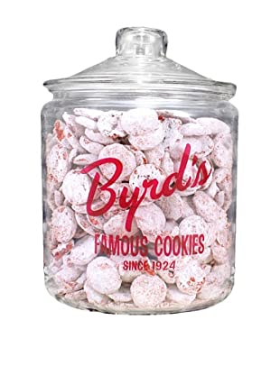 Byrd Cookie Company Logoed Jar with Red Velvet Cookies, 1lb