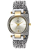 Daniel Klein Analog Silver Dial Women's Watch - DK10666-6