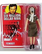 Six Million Dollar Man Fembot Action Figure!