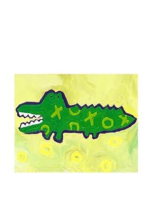 "Cici Art Factory X & O Croc, 8""x 10"""