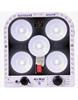 Airnet Rechargeable Emergency LED Light - 5 LED Light With FM Radio
