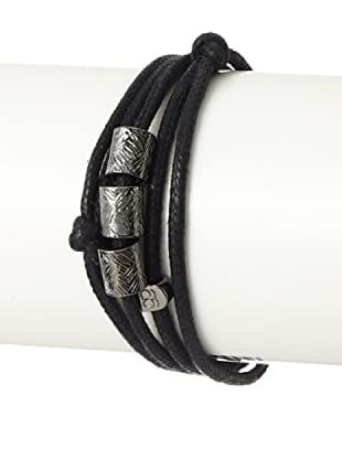 Griffin Black Fulton Convertible Triple-Wrap Bracelet