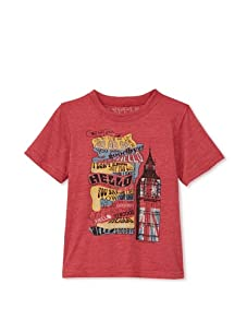 Lords of Liverpool Kid's Hello Goodbye T-Shirt (Red)