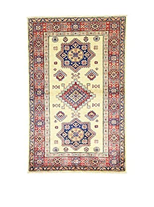 L'Eden del Tappeto Teppich Kazak Super rot/beige/blau 153t x t97 cm