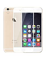 Kapa Full Screen Curved Anti Burst Tempered Glass Screen Guard Protector for iphone 6 PLUS - White