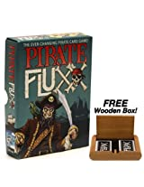Pirate Fluxx - The Ever Changing Pirate Card Game. Plus FREE Wooden Box!