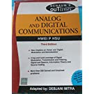 ANALOG   DIGITAL COMMUNICATION: SCHAUM?S OUTLINE SERIES 9780070151505 available at Amazon for Rs.200