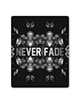 PosterGuy Never Fade Illustration Motivational Mouse Pad