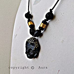 AUrA-EArTH Buddha 1 Necklace