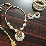 White Fashion Jewellery Set