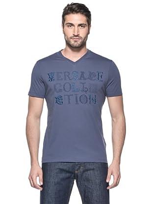 Versace Collection Camiseta Gaulterio (Azul)