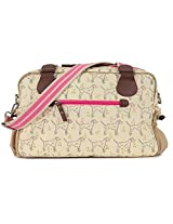 Pink Lining Not So Plain Jane Sam the Dalmatian Cream Diaper Bag
