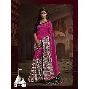 Surat Saree's Bhagalpuri Silk Saree