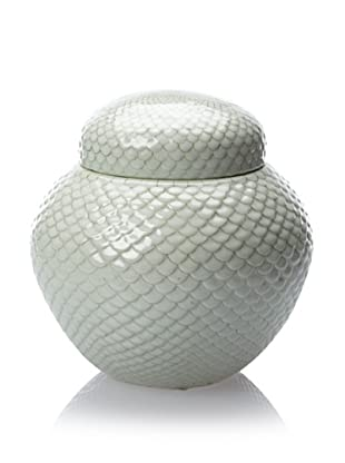 Tozai Scallion Jar, Pale Green