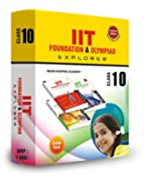 Combipack IIT Foundation and Olympaid  Explorer for Class 10