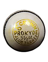 PROKYDE DELTA CROWN WHITE CRICKET BALL