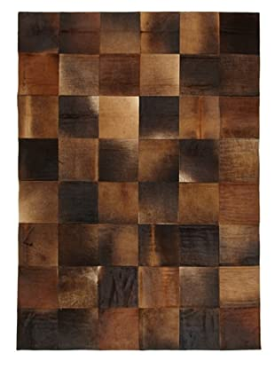 Hide Rug Multi Patchwork, 6' x 9'