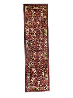 Bashian Rugs Hand-Knotted Afghan Rug, Dark Blue, 2' 7