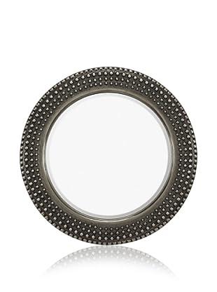 Majestic Mirrors Jasper Mirror (Antique Silver/Black)