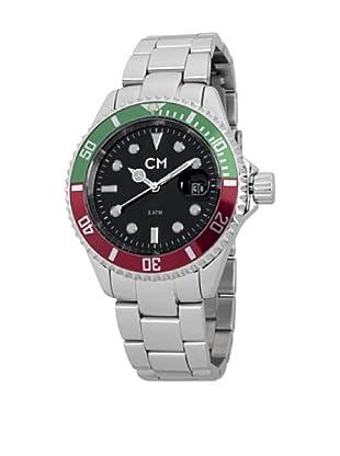 Carlo Monti Herren Armbanduhr XL Varese Analog Edelstahl CM507 121B