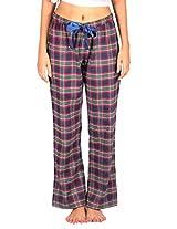 IKA Full-Length Pyjama - Flannel-Navy-Red-Green Check