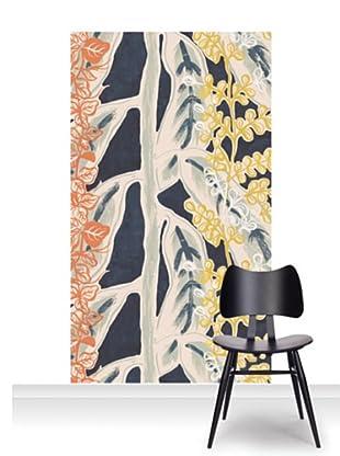 Lana Mackinnon Leaves Mural (Accent)