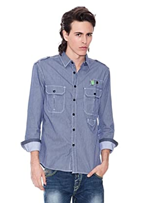 Gio Goi Camisa Sort (índigo)