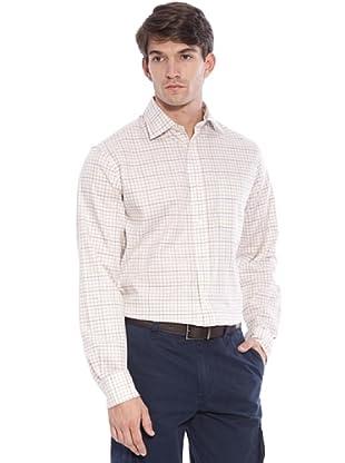 Hackett Camicia Quadri (Verde/Beige/Marrone)