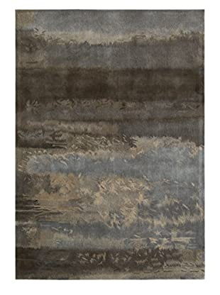 Calvin Klein Luster Chrome Wash Wool Rug