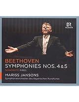 Beethoven:Symphonies 4/5  [Mariss Jansons, Symphonieorchester des Bayerischen Rundfunks ] [BR KLASSIK: 900135]