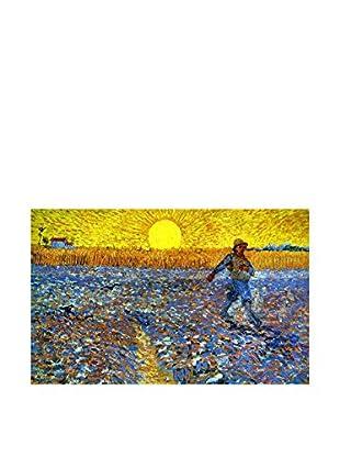 Legendarte Leinwandbild Seminatore Al Tramonto di Vincent Van Gogh