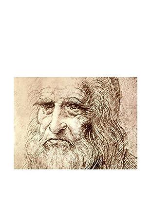 LegendArte  Wandbild Selbstbildnis 60X80 Cm von Leonardo da Vinci
