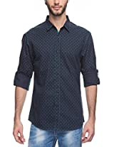 Spykar Men Cotton Navy Casual Shirt (XXX-Large)