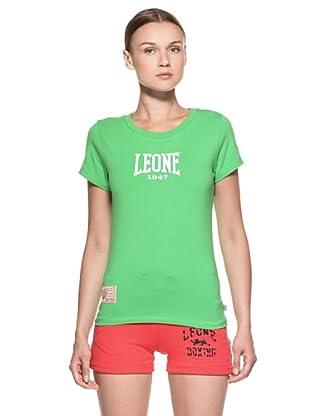Leone 1947 Camiseta Muay Thai (Verde Claro)