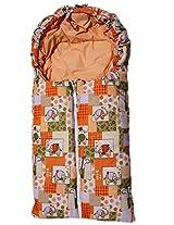 Amardeep Baby Sleeping Cum Carry Bag 85*38 cms 0-8 Months Orange Color