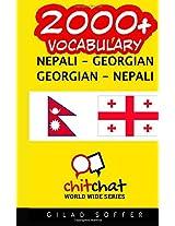 2000+ Nepali - Georgian Georgian - Nepali Vocabulary