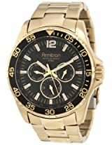 Armitron Men's 20/4829BKGP Stainless Steel Watch