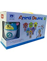 MIKADELO ANIMAL BOWLING 2 IN 1 FOR TODDLERS