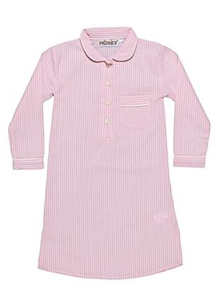 Honey Camicia da Notte 100% Cotone Nancy Girl (Rosa)