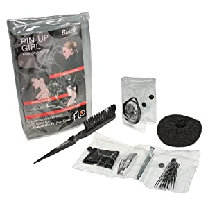 Lava Flo Pin Up Girl Kit, Black