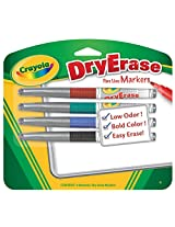 Crayola Dry Erase Markers, Multi Color